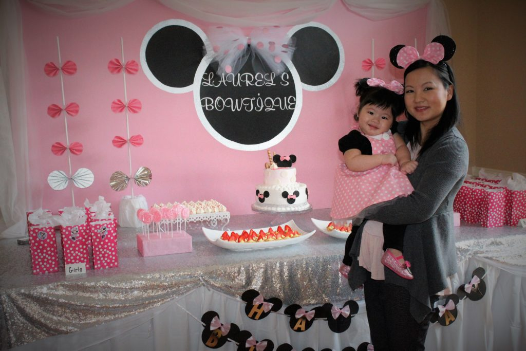 DIY Minnie Mouse Birthday Party DIY Bucket List