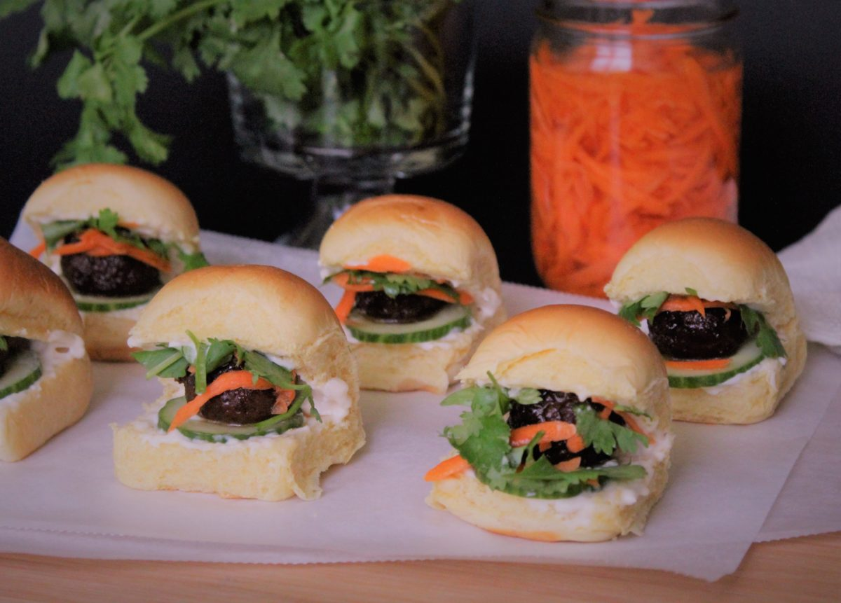 Easy Banh Mi Sliders